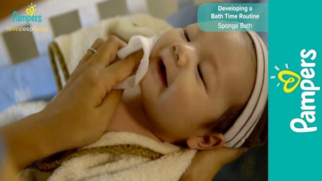 Newborn Care: How to Sponge Bath |